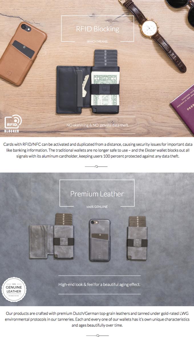 featured ekster wallet bluetooth portmonnaie mit gps tracking zu kaufen gadget technik und. Black Bedroom Furniture Sets. Home Design Ideas
