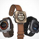 Hagic Retro-Design-Smartwatch: Lifestyle-Uhr mit langer Akkulaufzeit