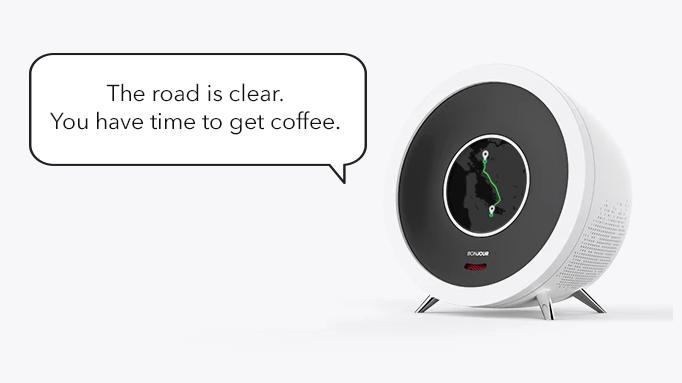 Gadgets für den Morgen: Bonjour-Guten-Morgen-Wecker weckt dich nach Bedarf